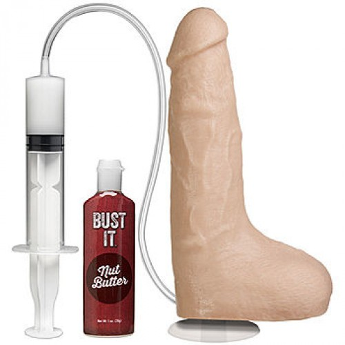 BUST IT Squirting Realistic Cock