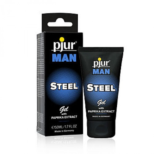 Pjur - Man Steel Gel 50ml