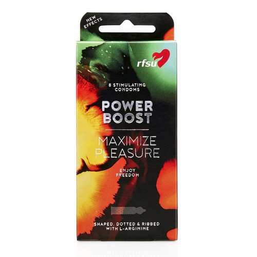 RFSU - Power Boost Kondomi, 8kpl