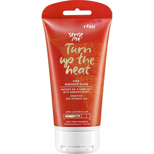 RFSU Sense Me Turn up the Heat Hierontageeli 150ml
